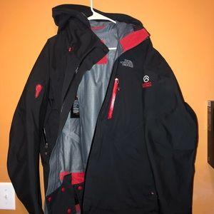 North Face Summit Jacket Size Large.
